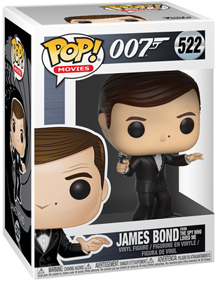 Funko Pop! Movies James Bond (The Spy Who Loved Me) Stock Thumb