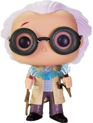 Funko Pop! Movies Dr. Emmett Brown (w/ Jumper Cables)