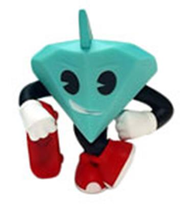 Kid Robot Art Figures Tiffany (Red)