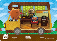 Amiibo Cards Welcome amiibo Billy