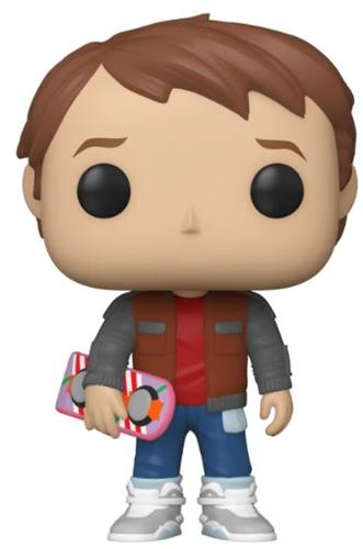 Funko Pop! Movies Marty With Hoverboard Icon