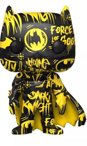 Funko Pop! Art Series Batman (Black & Yellow) Icon Thumb