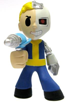 Mystery Minis Fallout Cyborg Icon