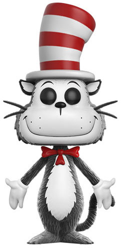 Funko Pop! Books Cat in the Hat (Flocked)
