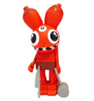 Kid Robot Art Figures Space Monkey: RedKobot Icon