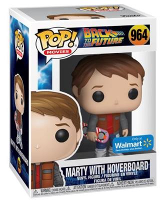 Funko Pop! Movies Marty With Hoverboard Stock
