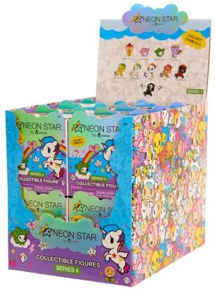 Tokidoki Neon Star Series 4 Cactus Dog Stock