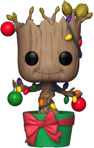 Funko Pop! Marvel Groot (Dancing) - Holiday Lights