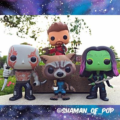 Funko Pop! Marvel Drax shaman_of_pop on instagram.com