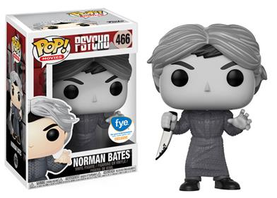 Funko Pop! Movies Norman Bates (Black & White) Stock Thumb
