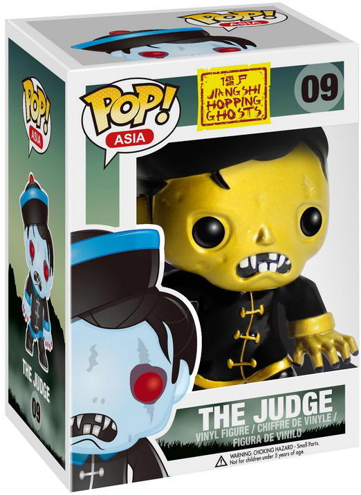 Funko Pop! Asia The Judge (Gold) Stock Thumb
