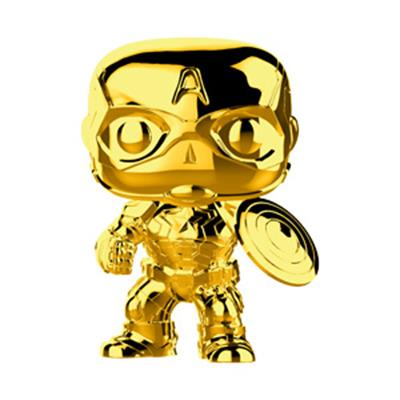 Funko Pop! Marvel Captain America - Gold Chrome