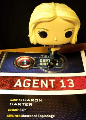 Funko Pop! Marvel Agent 13 funkopopfun on tumblr.com