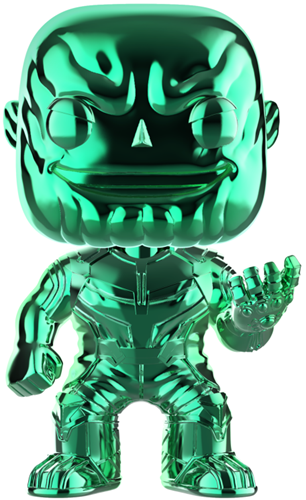 Funko Pop! Marvel Thanos (Chrome Green)