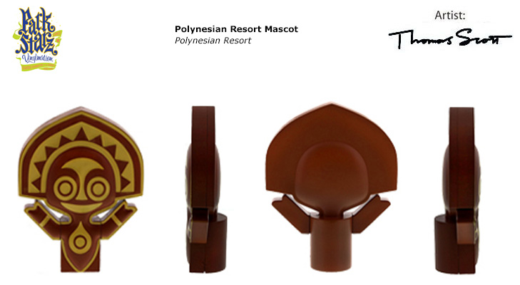 Vinylmation Open And Misc Park Starz 3 Polynesian Resort Mascot