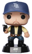 Funko Pop! Star Wars Kevin Kiermaier as Han Solo