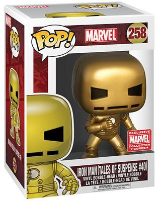 Funko Pop! Marvel Iron Man (Tales of Suspense #40) Stock