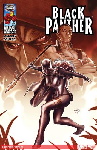 Marvel Comics Black Panther (2008 - 2010) Black Panther (2008) #8 Icon