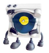 Kid Robot Blind Boxes Bent World Beats Mr. Spins