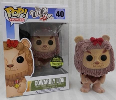 Funko Pop! Movies Cowardly Lion (Flocked) Stock
