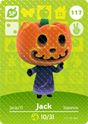 Amiibo Cards Animal Crossing Series 2 Jack