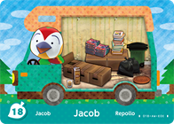 Amiibo Cards Welcome amiibo Jacob
