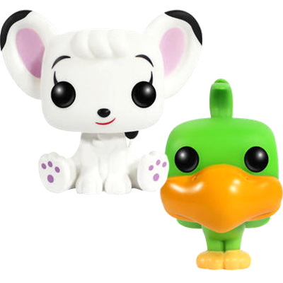 Funko Pop! Asia Leo & Coco (Flocked)