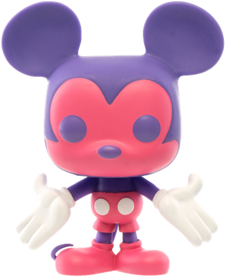 Funko Pop! Disney Mickey Mouse (Colorway - Pink/Purple)