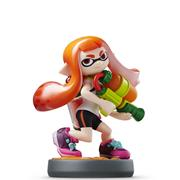 Amiibo Splatoon Inkling Girl (RED-ORANGE)