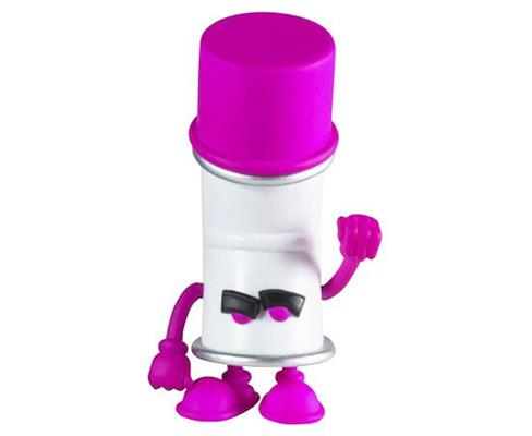 Kid Robot Blind Boxes Bent World Spray Can Purple