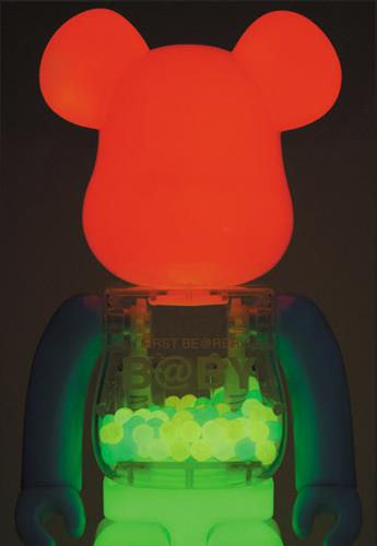Be@rbrick My First B@by Be@rbrick Glow in the Dark Baby 1000% Stock