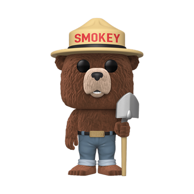 Funko Pop! Ad Icons Smokey Bear (Flocked)