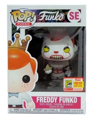 Funko Pop! Freddy Funko Freddywise Stock