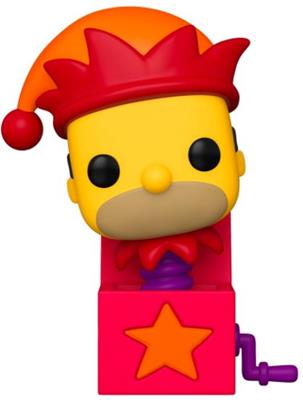Funko Pop! Television Jack in The Box Homer