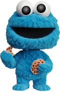Funko Pop! Sesame Street Cookie Monster (Flocked)