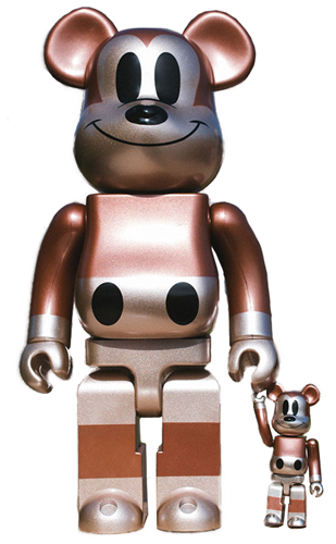 Be@rbrick Disney Mickey Mouse Set (Copper) Icon