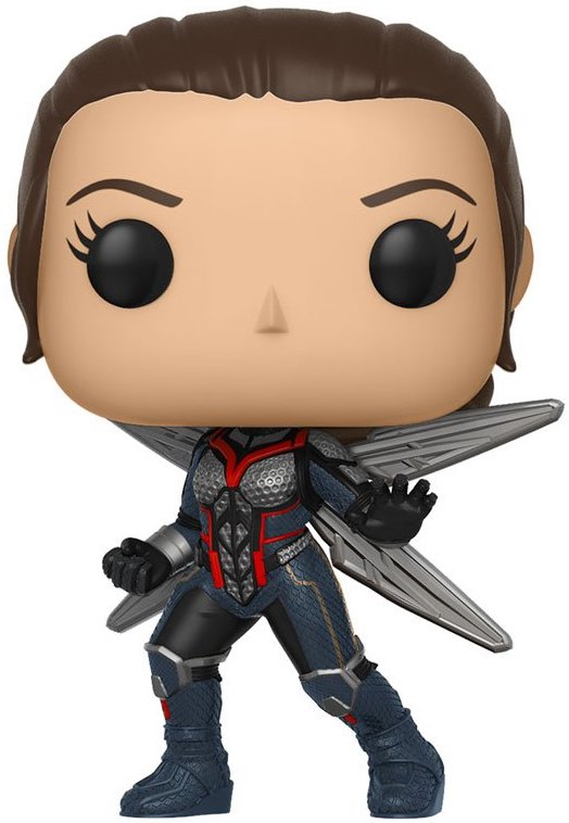 Funko Pop! Marvel Wasp (Unmasked) - CHASE