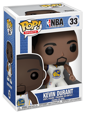 Funko Pop! Sports Kevin Durant (Warriors) Stock