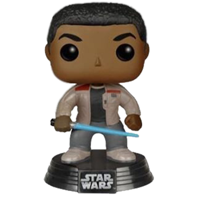 Funko Pop! Star Wars Finn (w/ Lightsaber)