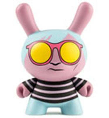 Kid Robot Special Edition Dunny Andy Warhol Space Fruit Stock