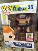 Funko Pop! Freddy Funko Football Freddy (Blue)