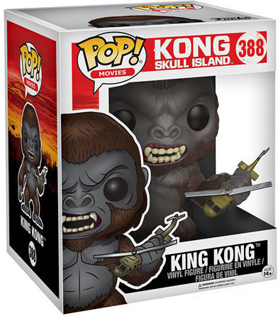 "Funko Pop! Movies King Kong - 6"" Stock"