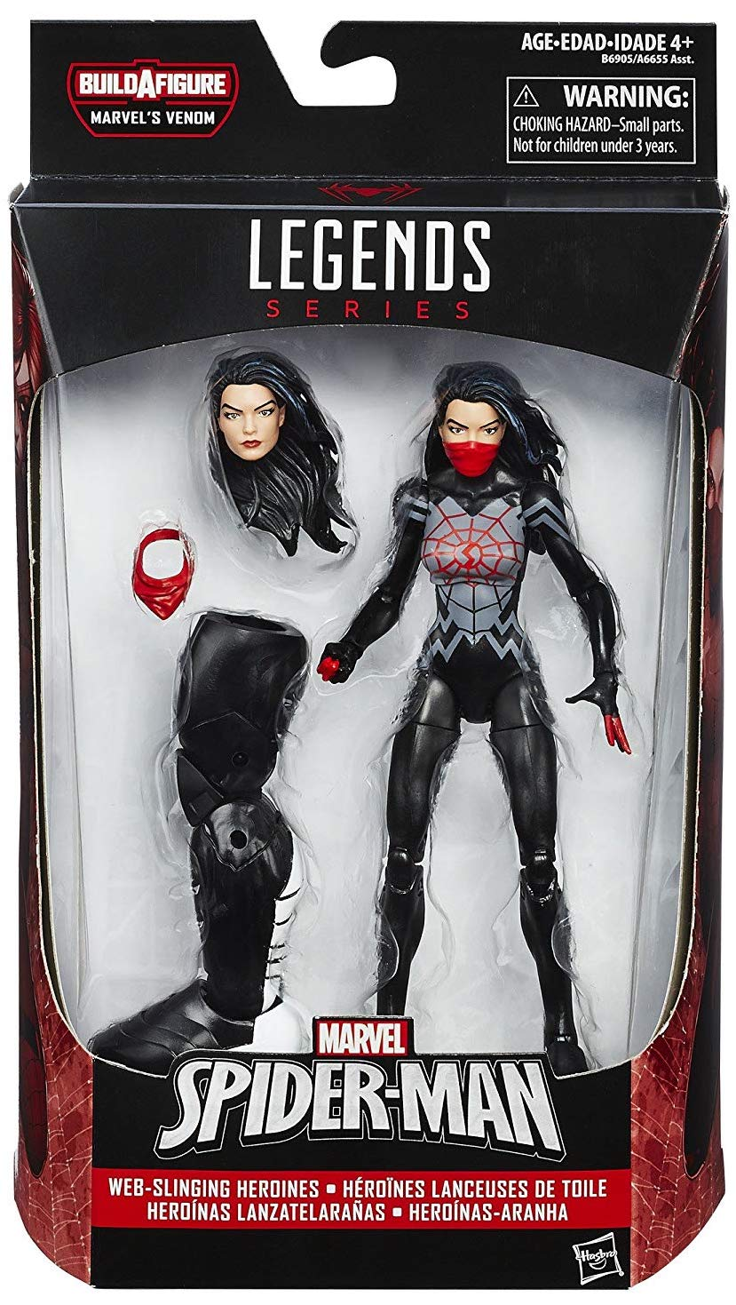 Marvel Legends Space Venom Series Silk