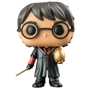 Funko Pop! Harry Potter Harry Potter (Tri Wizard with Golden Egg)
