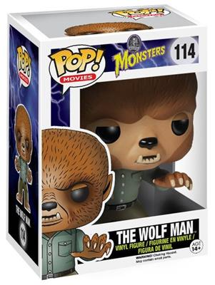 Funko Pop! Movies The Wolf Man Stock