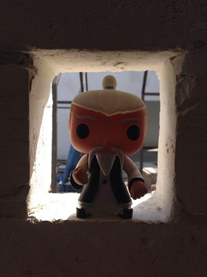 Funko Pop! Asia White Brow Priest funkocommander on tumblr.com