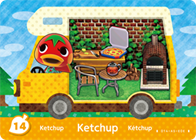 Amiibo Cards Welcome amiibo Ketchup