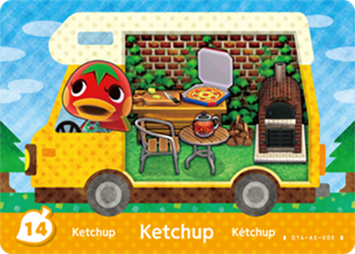 Amiibo Cards Welcome amiibo Ketchup Icon