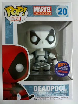 Funko Pop! Marvel Deadpool (Black & White)