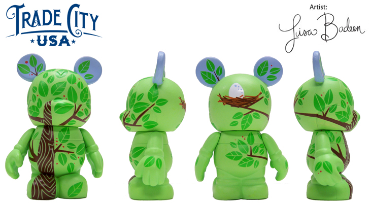 Vinylmation Open And Misc Trade City Tree